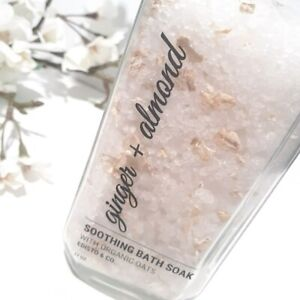 Soothing Oat Bath Soak, Ginger + Almond