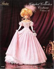 Paradise Crochet Leaflet P-050 Volume 39 to make 1896 Court Gown 4 Barbie