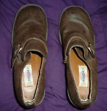 ORIGINAL RUGGED OUTBACK BROWN SLIP ON SIZE 8 HEEL SHOES