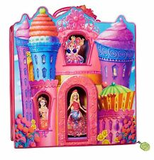 Barbie and The Secret Door Small Doll Movie Bag 4 Princess Rooms NEW