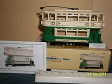 "CORGI ""GRIMSBY"" CLOSED TOP DOUBLE DECKER TRAM #97267 NIB"