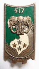 insigne broche militaire 517e régiment du train INDOCHINE Solide Et Sur
