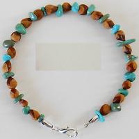6 American Indian Navajo Ghost Cedar Bead Juniper Berry Turquoise Bracelets