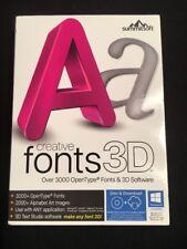 Summitsoft Creative Fonts 3D