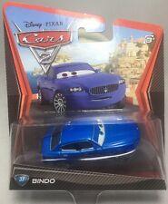 "2011/2012 MATTEL Disney Pixar CARS 2: ""BINDO"" (#37) Error Card Brown Eyes"