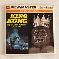 Vintage GAF Viewmaster Showtime King Kong Movie Viewmaster Reels x3 Pack B 392