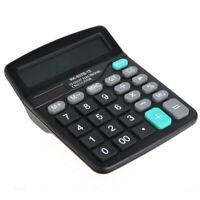 Calculadora Casa Comercio Oficina - 12 Digitos - Solar Y Pila - Dual Power