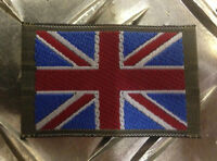 Genuine British Forces / Army Union Jack Flag Shoulder Patch / Badges X 2  FLG01