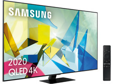 "Samsung QE49Q80T 49"" Smart TV QLED 2020 Direct Full Array HDR 1000, IA 4K UHD"