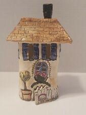 Retired 2000 Blue Sky Clayworks Heather Goldminc Welcome Home House Cs20763