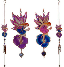 Colourful Fairy & Flower Wind Chime Garden and Home Ornament 5285885 UXX