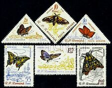 1960 Butterflies,Schmetterlinge,Papillons,Farfalle,Triangle,Romania,1918,C89,MNH