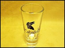 Shot Glass Country Club Caballo Bayo Shooter Horse Cocktail Tequila Ride New 13