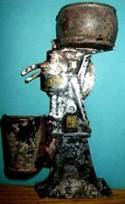 Rare Antique Tin Metal DELAVAL CREAM SEPARATOR dairy Match Holder Wall Mount