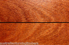 Very Rare Australian Red Silky Oak Wood Knife Scales (Bookmatched)