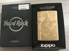ZIPPO BRASS HARD ROCK CAFE DENVER