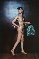 Helmut Newton Sumo Photo 50x70cm Fashion Nova Paris 1973 Nude Sheer Limpid Dress