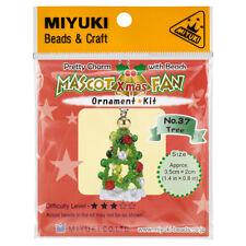 Miyuki Cuentas Mascota Ventilador Kit No.37 encanto de árbol de Navidad (R22/7)
