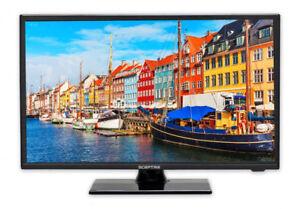 "Sceptre E195BV-SR 19"" 720p HD LED LCD Television - Black"