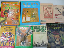 Africa Egypt Myth Legend Culture Folk Tales Stories Folklore Wildlife Big Lot