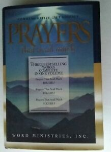 Prayers That Avail Much by Germaine Copeland (1997) Vols 1, 2 & 3 hardcover EUC