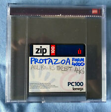 "EMU ""Protazoa"" sample collection on ZIP100 disk"