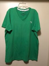 Abercrombie & Fitch Green T-shirt Size XL