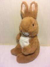 "Plush Peter Rabbit Bunny Large 15"" The Original Beatrix Potter 2007"
