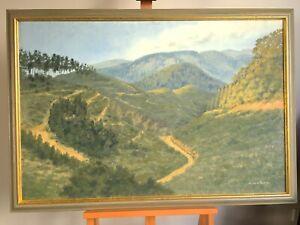 """""""FOREST, SOUTH OF MORWELL"""" - LARGE, ORIGINAL AUST. LANDSCAPE - ELIZABETH JACKSON"""