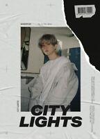 EXO BAEKHYUN CITY LIGHTS 1st Mini Album DAY CD+POSTER+P.Book+Lyric+Card+F.Poster