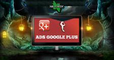 SOCIAL WEB MARKETING • Servizio pubblicità • GOOGLE PLUS