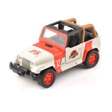New 1/32 JADA Jeep Wrangler Jurassic Park Diecast Vehicles Car Model Toys Gift