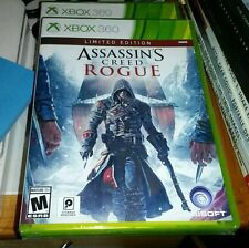 ASSASSINS CREED ROGUE LIMITED EDITION XBOX 360 XBOX ONE GAME FACTORY SEALED NEW