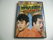 Harold & Kumar Escape from Guantanamo Bay (DVD, 2013, 2-Disc Set, Unrated)
