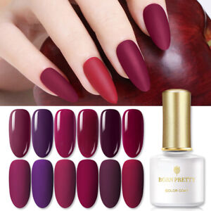 BORN PRETTY 6ml UV Gel Nail Polish  Tips Soak Off Gel Varnish Shiny Decors