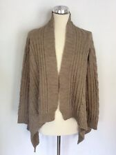 GHOST FAWN CABLE KNIT DESIGN CARDIGAN SIZE M
