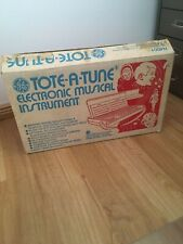 GCE TOTE-A-TUNE Vintage 70s Toy Space Age Analog Organ Synthesizer NEW OLD STOCK