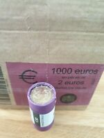Rouleau 2 Euro Commémorative 2020 France Charles De Gaulle UNC
