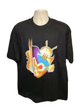 1997 Jvc Jazz Festival 25 Years in New York Adult Black Xl Tshirt
