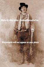 1879 Photo Old Wild West Most Wanted Outlaw Billy The Kid Winchester Model 1873