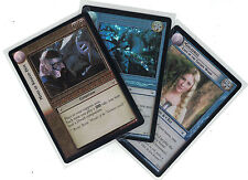 Lord of the Rings CCG Realm of Elf Lords FOIL : 3x Rare Cards   freie Auswahl