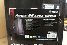 MSI Aegis SE 10SI-084US Gaming i5-10400F 512 SSD GTX 1660 Super Win 10 16GB RAM