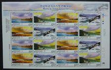 Korea Süd 2007 Flüsse Rivers I Landschaften Landscape 2562-65 Kleinbogen MNH