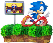 """SONIC THE HEDGEHOG - 25th Anniversary 13"""" Statue (First 4 Figures) #NEW"""