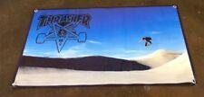 Thrasher magazine poster complete skateboard ramp rail skate park banner B132