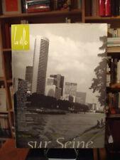 [revue] Catherine TRICOT La ville Trimestriel n° 2 'Sur Seine' 1995