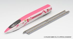 TOMIX N Gauge Hello Kitty Shinkansen JR Series 500-7000 First Car Museum Japan