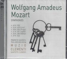 2 CD ♫ Compact disc Box «W.A. MOZART ♦ SYMPHONIES ♦ M.CLEMENTI» nuovo sigillato