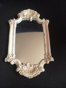 "RAZ Imports~11"" Shabby Chic Mirror"