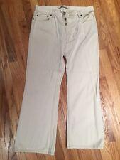 Gap Boot Fit Beige Off White Men's Jeans 35x30, 89x76